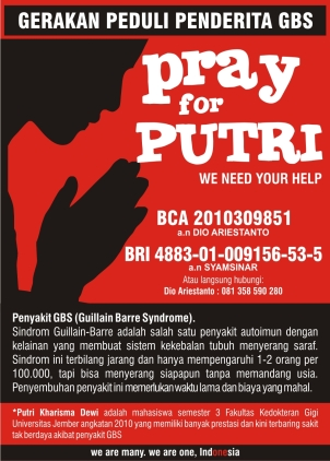 PRAY FOR PUTRI